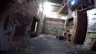 OLD BRYCE HOSPITAL ALONE SPIRIT BOX AND CRAZY SOUNDS CAUGHT ON CAMERA
