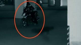 Parking Garage Security Camera Footage | Real Ghost Caught Live On CCTV Camera, Ghost Videos