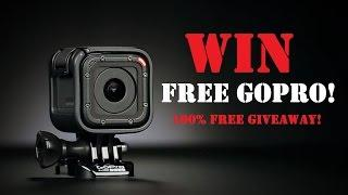 Win A FREE Gopro Hero Session! | Just Watch THIS Video! | 100% Free GIVEAWAY!