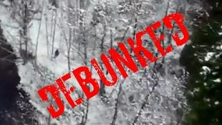 REAL PROOF!! DRONE FILMS BIGFOOT WALKING IN OREGON FOREST! DEBUNKED