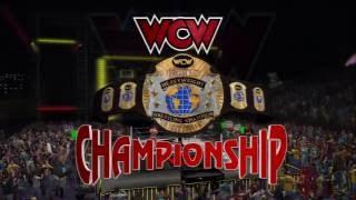 wwe Season Mode WCW championship match