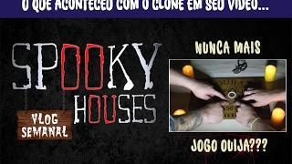 """Assunto Spooky Semanal - Clone em seu """"nunca mais jogo ouija"""""""