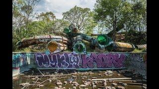 Abandoned Water Park Atlantis - Mexico City !