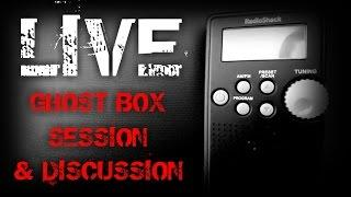 LIVE GHOST BOX SESSION & DISCUSSION