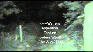 Apparition Caught by WARREN at Joydens Wood 23rd August 2013