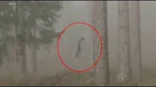 Is It an Alien or Ghost !! Shocking Ghostly Figure Captured on Camera, Scary Videos