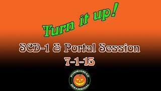 SCD-1 & Portal get quiet.