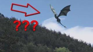7 Humanoides Voladores Captado en Video y Visto en la Vida Real