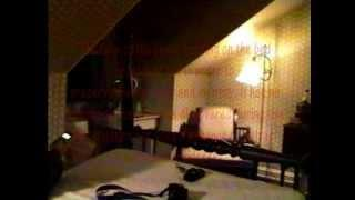 Ghost? Something Strikes Our Camera At An Alleged Haunted Inn.wmv