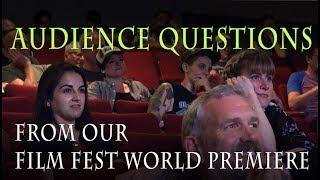 Audience asks the Queer Ghost Hunters questions at their World Premiere