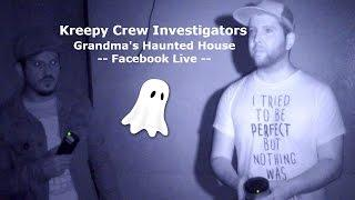 Ghost Hunting | Kreepy Crew Facebook Live Video
