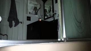 Ghost, paranormal, flashlight turns off on own.