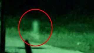 Ghost Light Caught On Cctv Camera!! Ghost Activity On A Dark Road