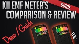 K2 KII EMF METERS DEMO & GUIDE - Ghost Hunting