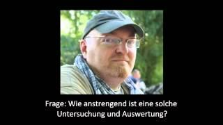 Ghosthunter-NRWup ZDF-Interview mit Tom wegen PU Burg Frankenstein 2012