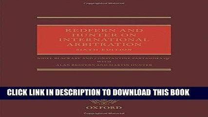 [PDF] Redfern and Hunter on International Arbitration Full Colection