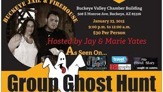 Group Ghost Hunt 1/23/2015