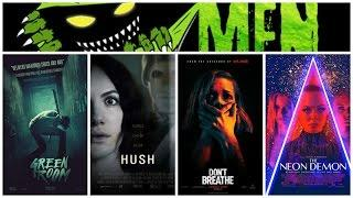 Monster Men Ep. 111: Reviews- Hush, Don't Breathe, Green Room, Neon Demon