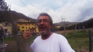 Mostro di Firenze  - pista Sarda - strada interpoderale