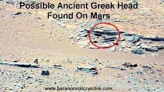 Ancient Greek Head Found On Mars?