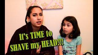 SHAVING MY HEAD!!! + YouTube DISABLED our Comments!