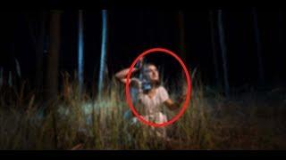 Ghost Caught Live On Mobile Camera | Ghost Figure Spotted In A Deserted House | Human Like Figure!!