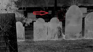 Real Paranormal Activity Caught on Cctv Camera From a Haunted Cemetery!! Scary Videos