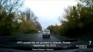 Un OVNI causa un mortal accidente en una carretera de Rusia