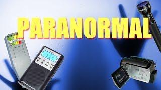 Le matériel de base pour une investigation paranormale