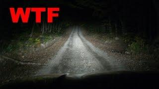 Driving Down a TERRIFYING Road (At NIGHT)