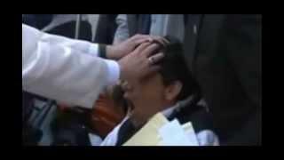 Por primera vez el Papa Francisco realiza un exorcismo en público