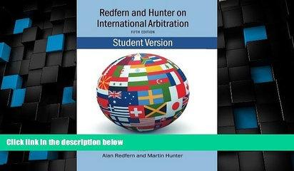 Must Have PDF  Redfern   Hunter on International Arbitration  Best Seller Books Best Seller