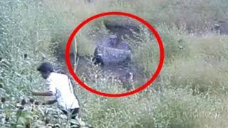 Shocking Ghost Sighting From a Old Cemetery !! Scary Videos