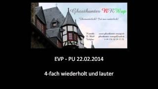 Ghosthunter-NRWup - EVP PU 22.02.2014