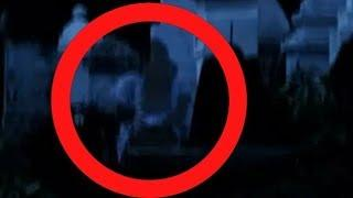 HORRIBLE GHOST CAUGHT AT GRAVEYARD Real Ghost In White Dress