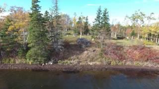 Haunts From The Cape  - Black Brook Cemetery - Drone Footage