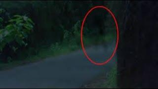 Ghost Caught On Tape | Ghost On Haunted Road | Ghost Sighting 2017 | Scary Videos