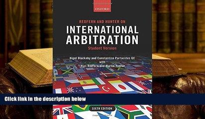 PDF [DOWNLOAD] Redfern and Hunter on International Arbitration [DOWNLOAD] ONLINE