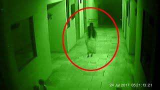 Paranormal Activity! Young Girl Spooked By Ghost In Her Room