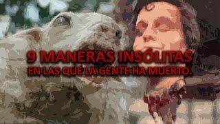9 maneras Insólitas de morir [Casos reales] - Proyecto Paranormal México