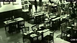 Poltergeist Activity filmed inside restaurant