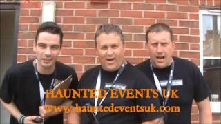 Haunted Events UK / Ghostbusters Advert