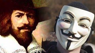 Anonymus origen de su mascara