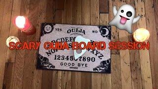 SCARY OUIJA BOARD SESSION! *PARANORMAL ACTIVITY*