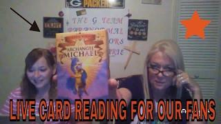 LIVE ORACLE CARDS! By The G Team Paranormal