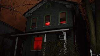 Ghost Hunting at a Haunted House