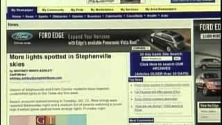 CNN News - October 25, 2008 - Texas UFO Hotspot
