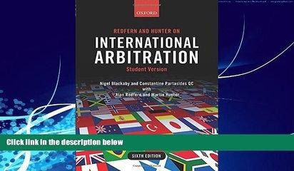 Big Deals  Redfern and Hunter on International Arbitration  Best Seller Books Best Seller