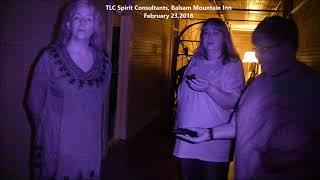 Listen to spirit tell client their name and tlc member confirms.