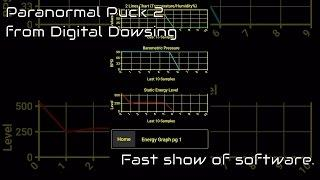 Paranormal Puck 2 Android software from Digital Dowsing